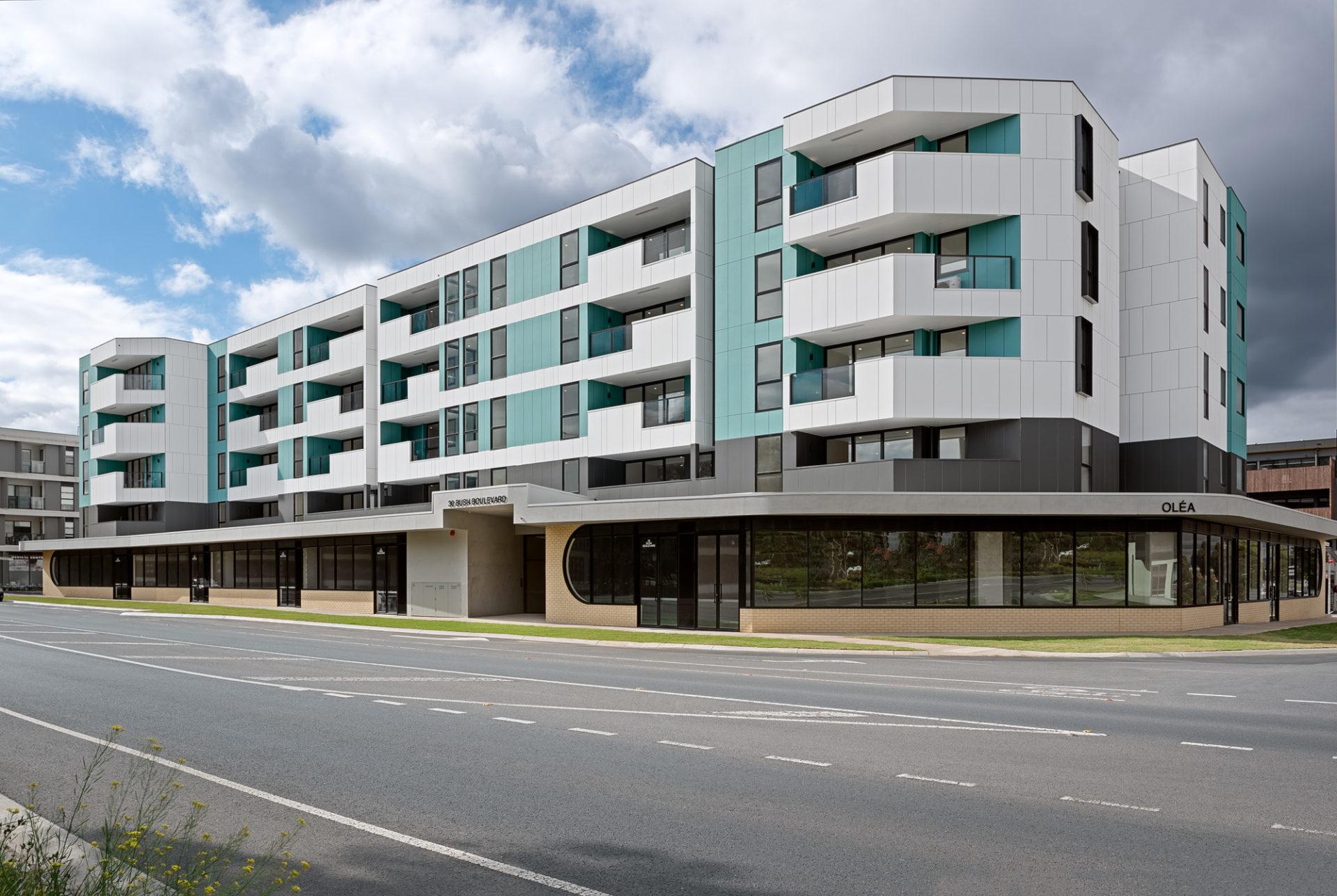Olea Apartments Mill Park External