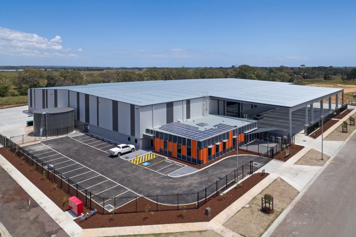 Rondo Warehouse Dandenong Drone