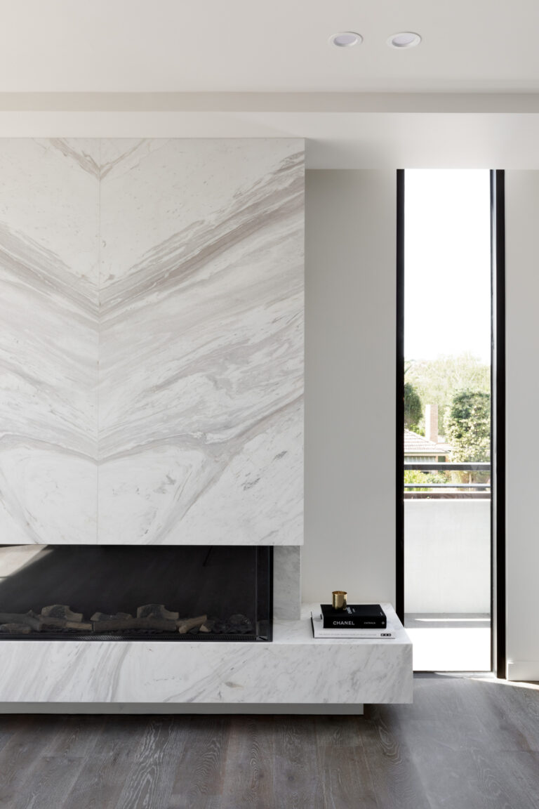 Caspian Hampton Fireplace