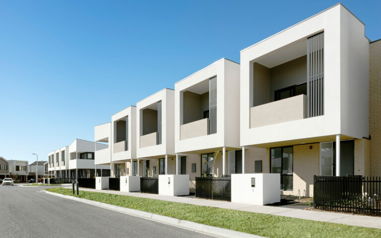St Albans Townhomes Streetscape 2