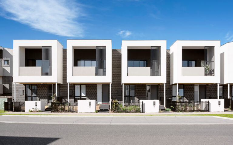 St Albans Townhomes Streetscape 3