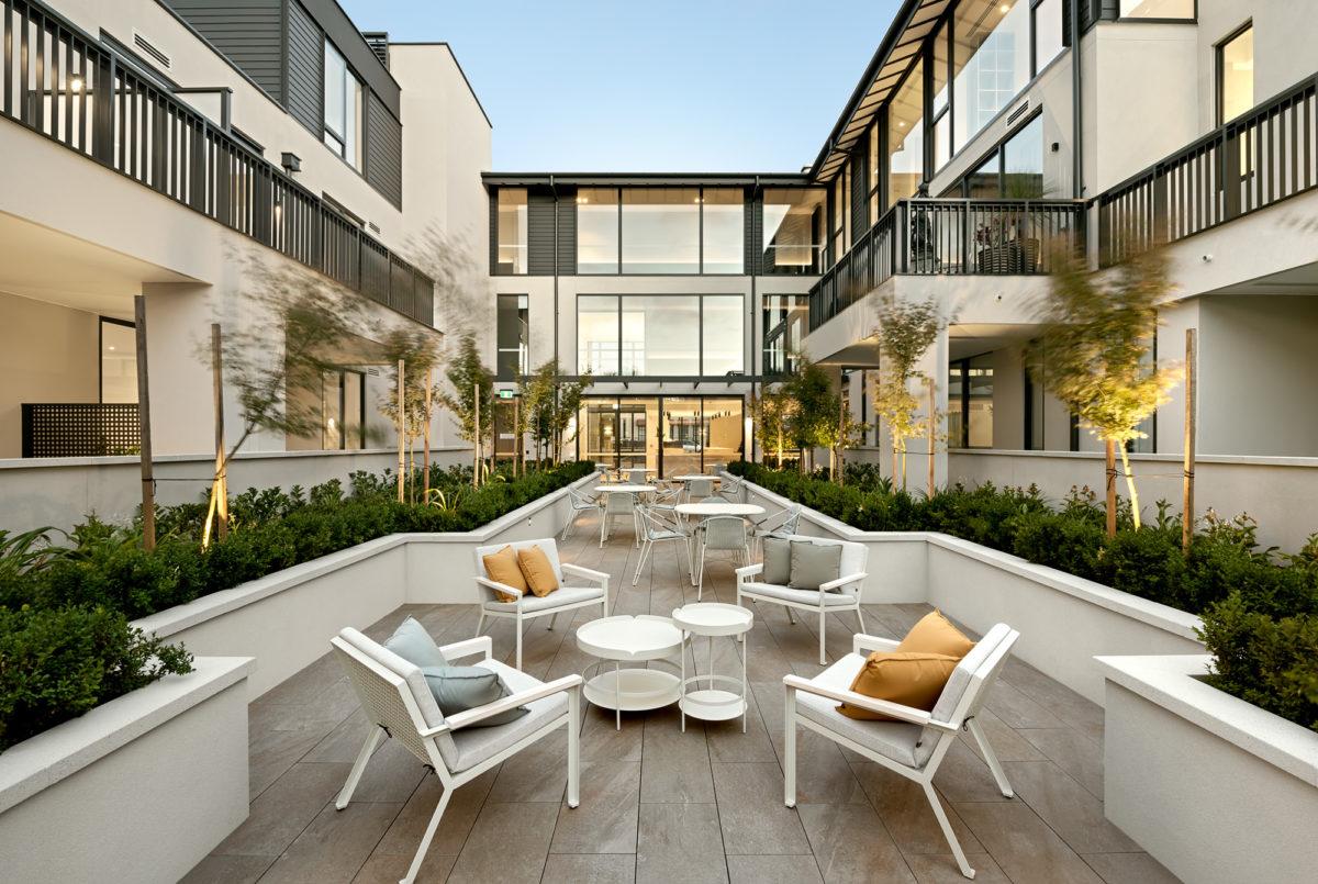 The Granton Brighton courtyard