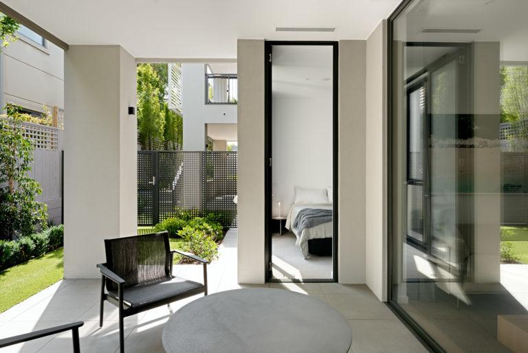 The Granton Brighton courtyard bedroom