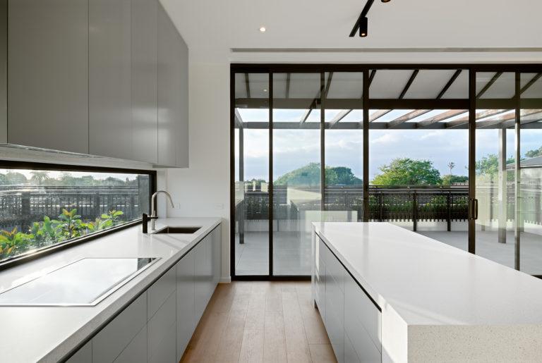 The Granton Brighton kitchen penthouse
