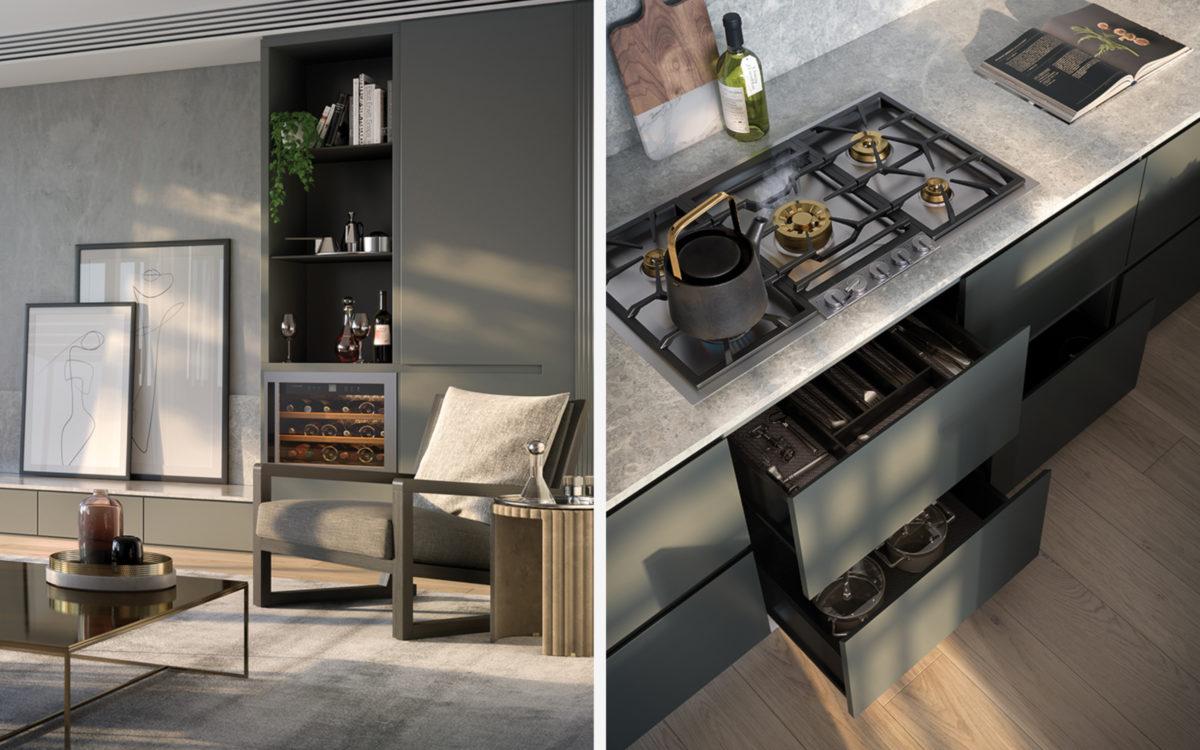 Park Lane Elsternwick Living Kitchen Detail