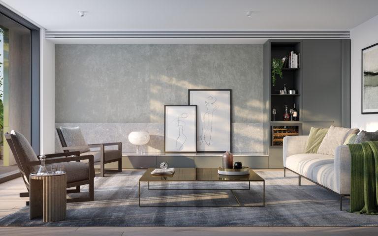 Park Lane Elsternwick Living Room