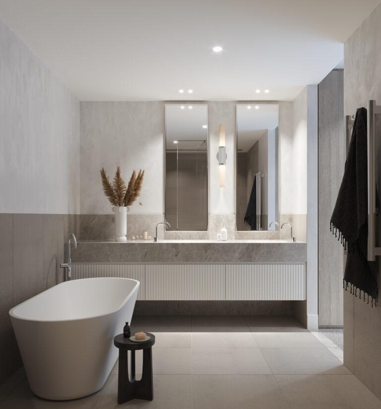 Esplanade Mornington Bathroom