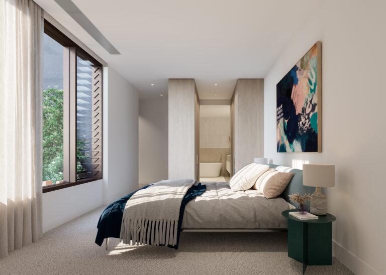 Esplanade Mornington Bedroom