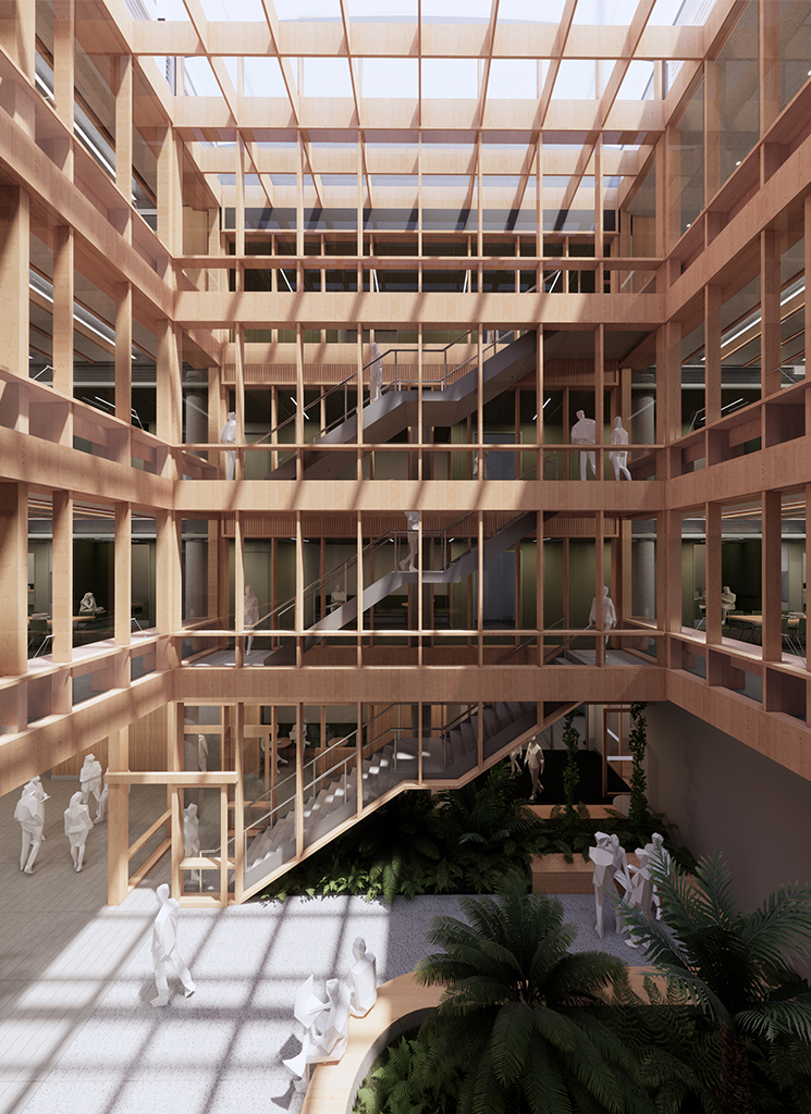 Centre for Higher Education CHES South Yarra Atrium