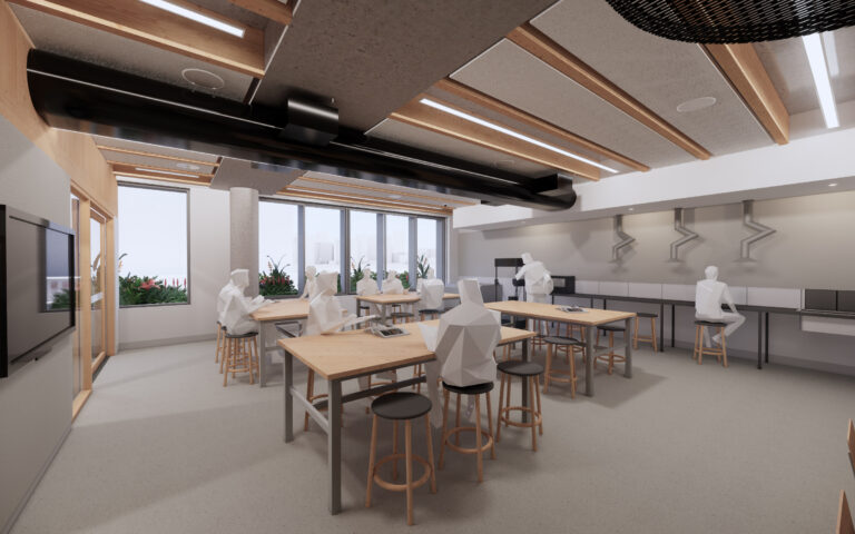 Centre for Higher Education CHES South Yarra Classroom Space