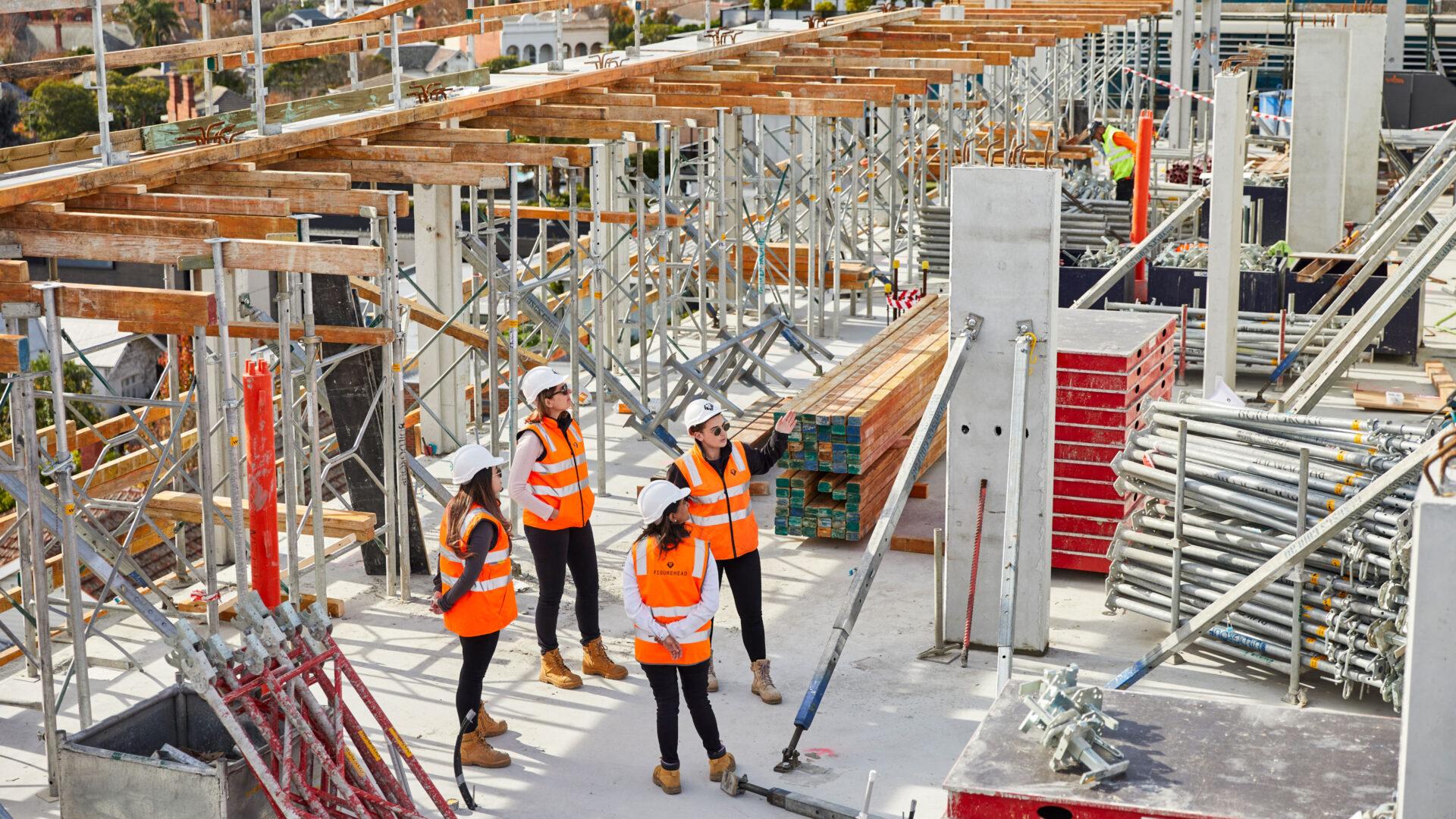 Women Construction Site Header